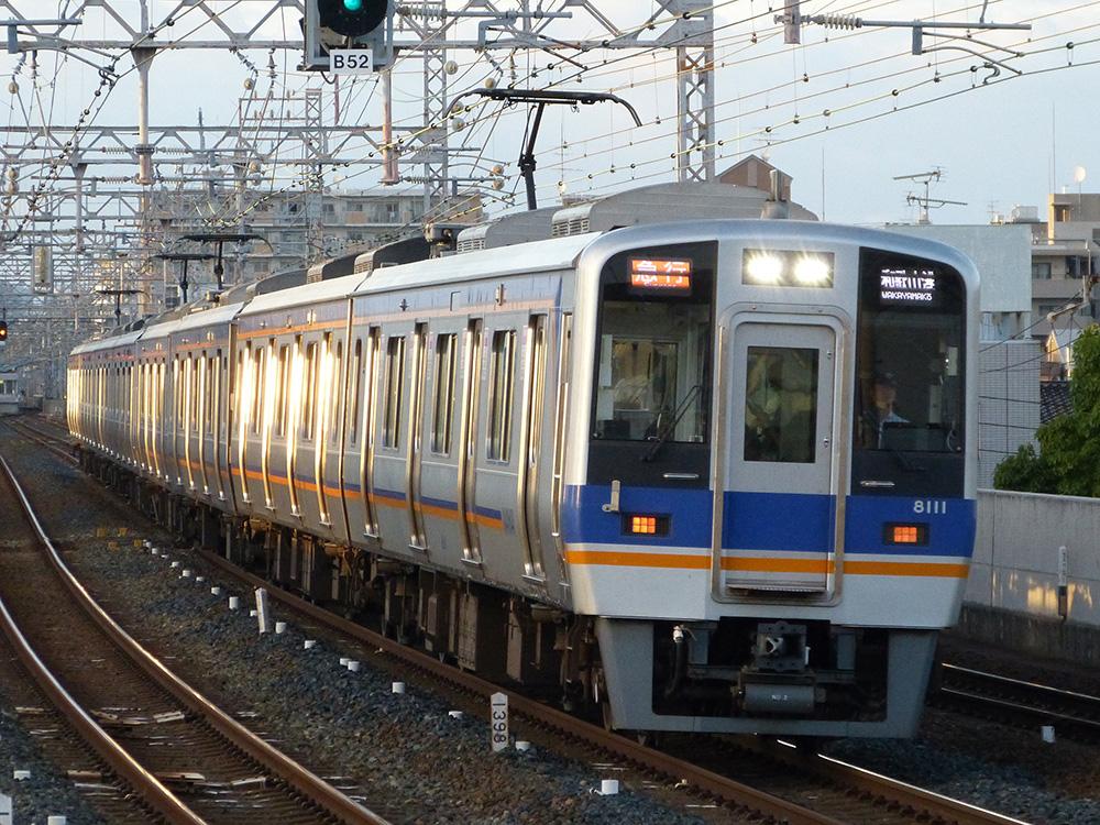 8000系4+4による急行和歌山港行き