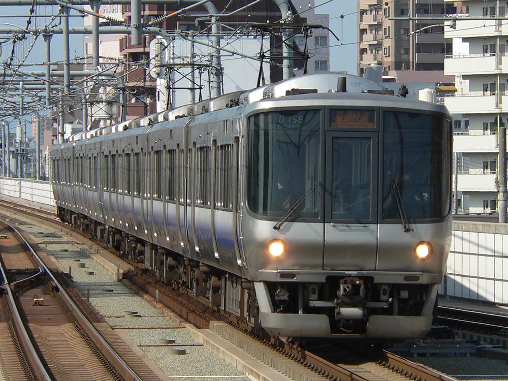 阪和線223系0番台直通快速
