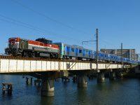 【貨物】東京都営地下鉄6500形第2編成が甲種輸送される