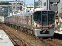 大阪環状線323系に『60 周年ロゴマーク』を装飾!