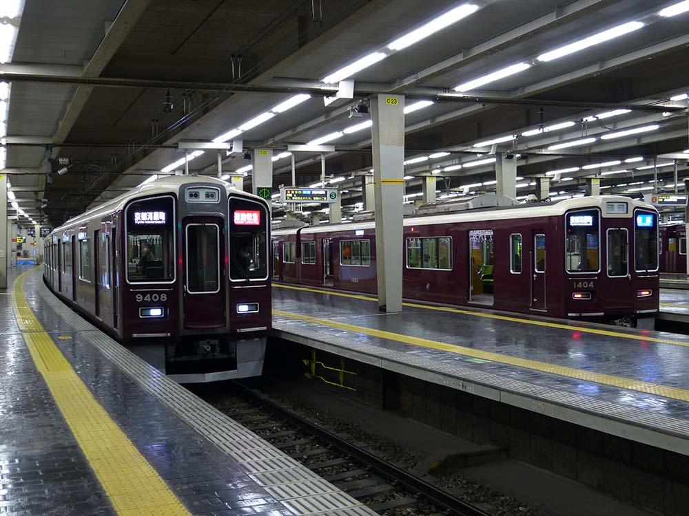 阪急京都線の通勤特急と快速